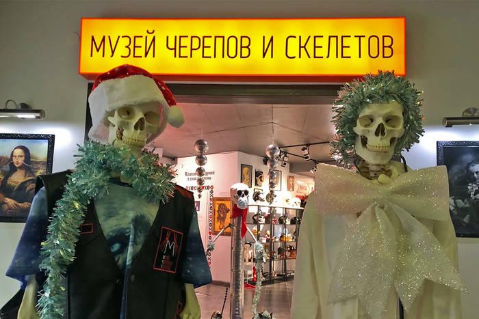 Музей Черепов и Скелетов/Новый год в Музее Черепов и Скелетов!